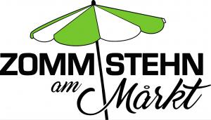 Logo: ZOMMSTEHN am Mårkt - na tržnici pridemo skupaj