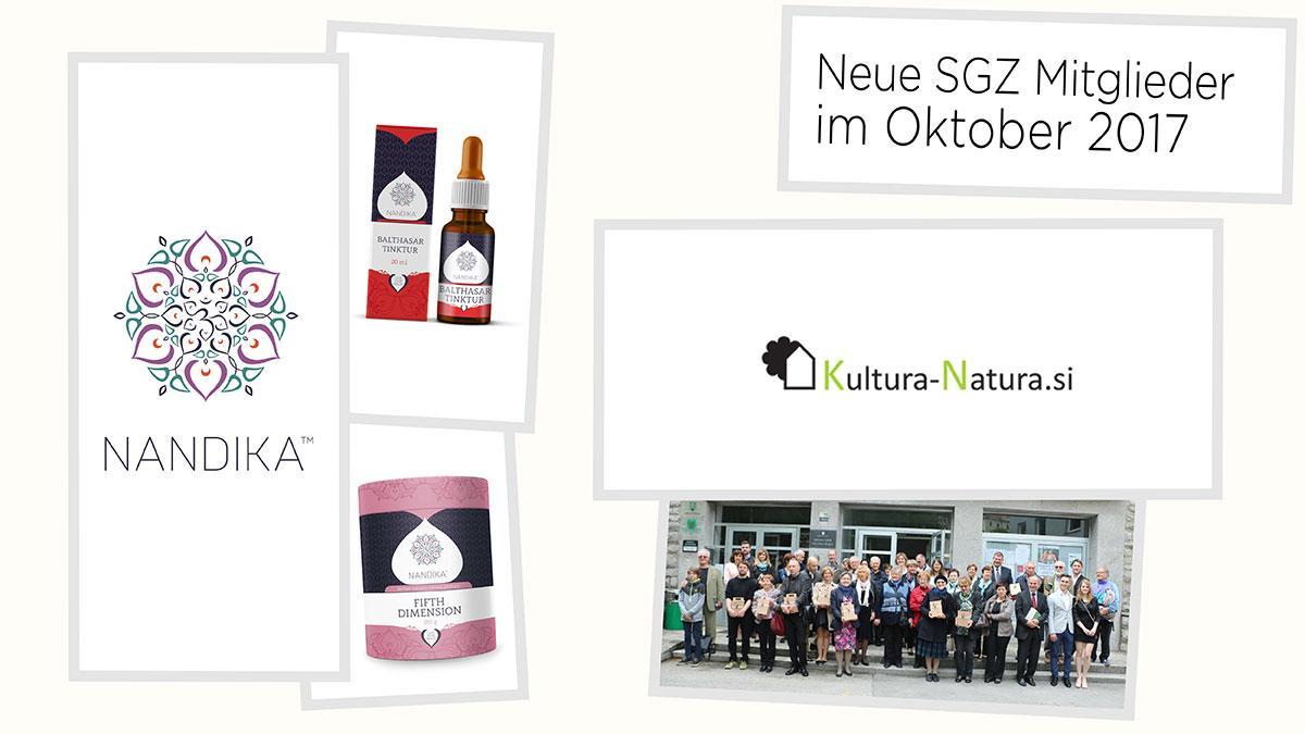 Bild: Freitags-Goodies: Neue Mitglieder des SGZ im Oktober 2017
