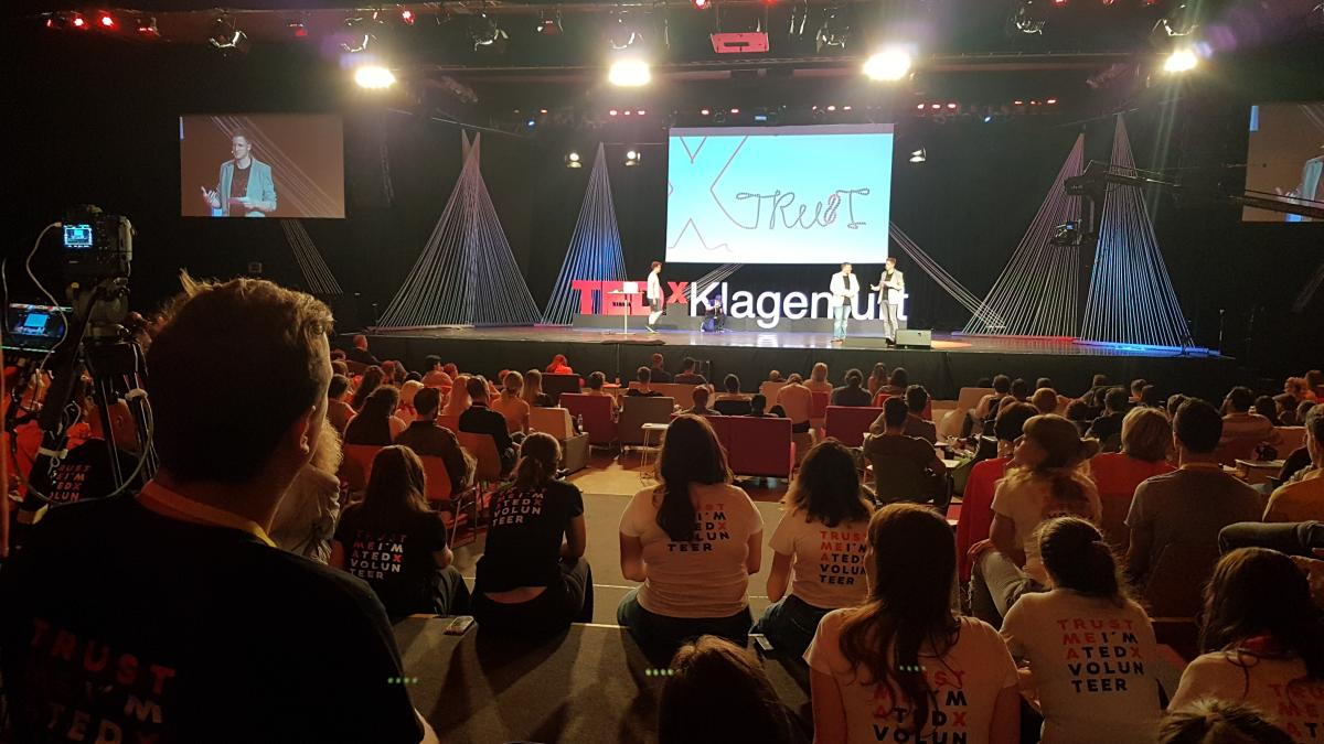 """Slika: TEDxKlagenfurt 2018 v znamenju zaupanja """"TRUST"""""""