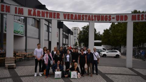 Slika: SGZ sprejela slovenske študente v Celovcu