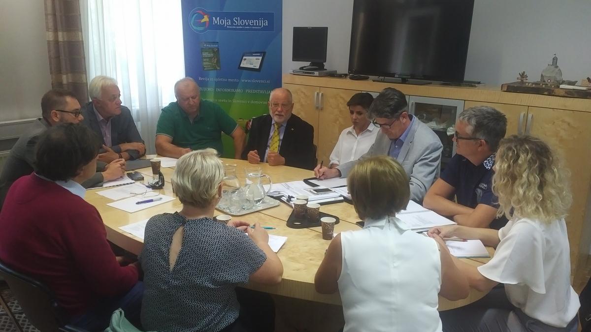 Slika: Sestanek Medresorske delovne skupine - 20.09.2018 - Ljubljana
