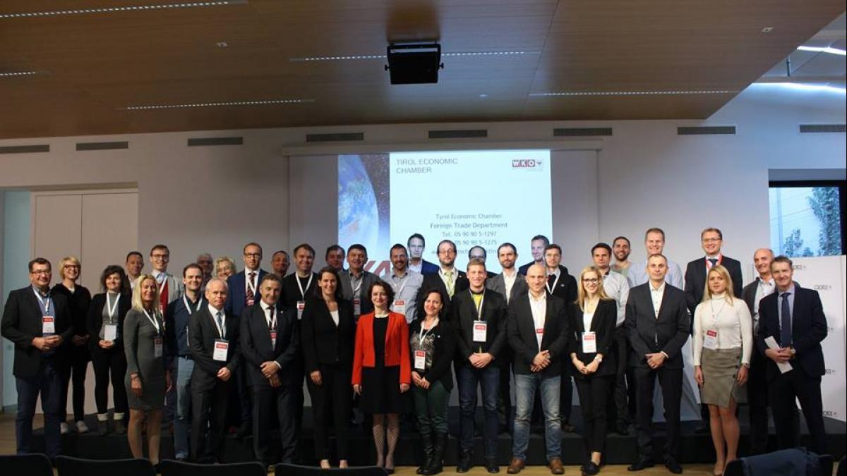 Slika: Slovenska poslovna delegacija v Innsbruck