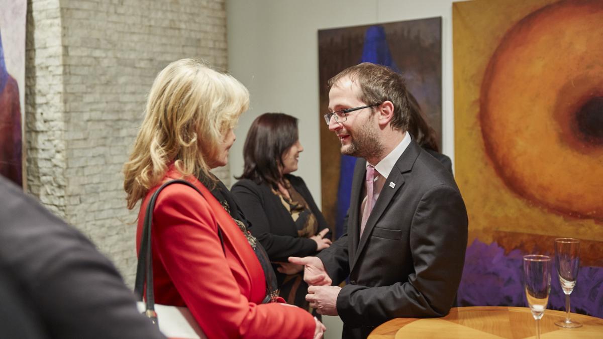Slika: Prednovoletno gospodarsko srečanje na Generalnem konzulatu Republike Slovenije v Celovcu