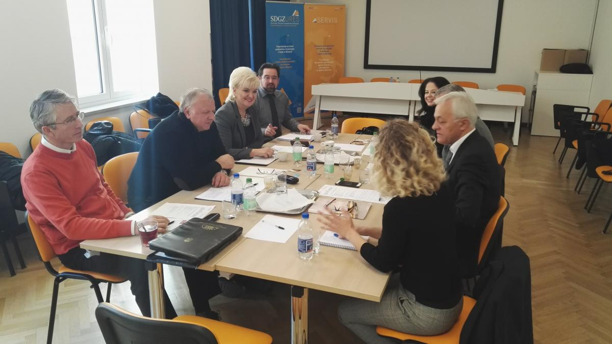 Slika: SDGZ gostilo Medresorsko gospodarsko komisijo Urada za Slovence