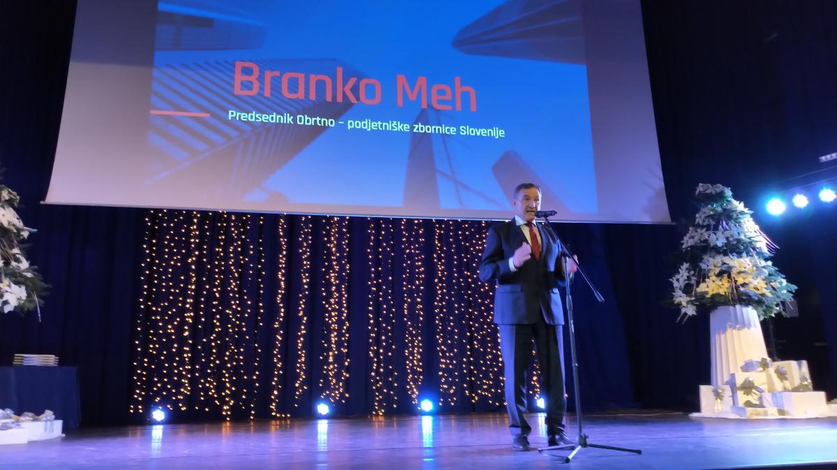Slika: Območna obrtno-podjetniška zbornica Maribor obhajala svojo 45. obletnico delovanja.