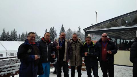 Bild: Gewerbekammer Slowenien lud zum winterlichen B2Ski