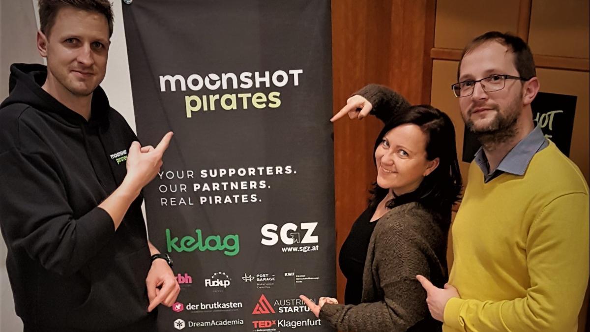Slika: Ekipa projekta Moonshot Pirates uspešno zaštartala s programom za mlade