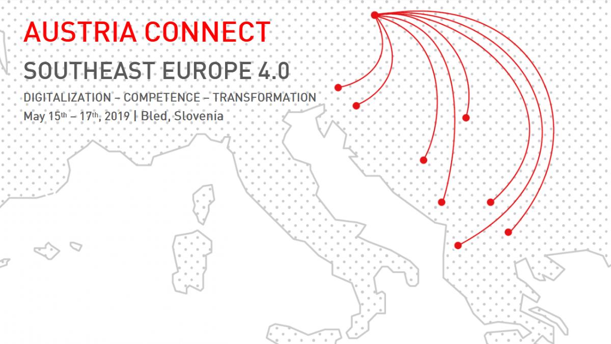 Bild: Einladung:  AUSTRIA CONNECT Southeast Europe 4.0