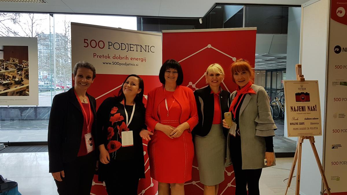 Slika: Praznik ženskega podjetništva – prireditev 500 PODJETNIC