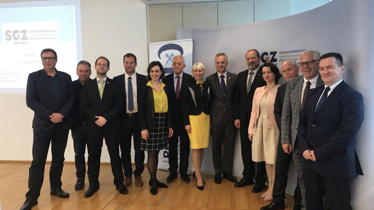 Bild: Präsident des Staatsrates der Republik Slowenien in Kärnten