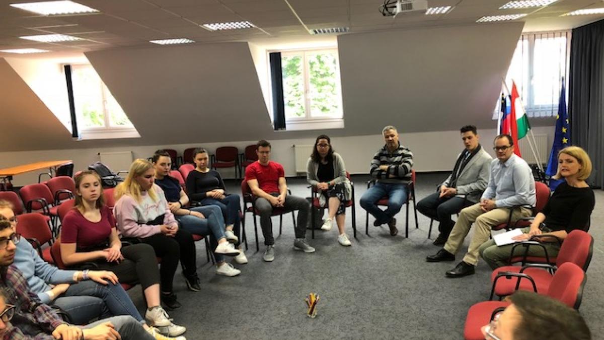 Slika: Mladi in civilna družba - 1. srečanje MAJ 2019 v Monoštru