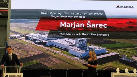 Bild: Offizielle Eröffnung von MAGNA in Slowenien