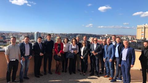 Bild: Wirtschaftsmission nach Priština, 09.-11.10.2019