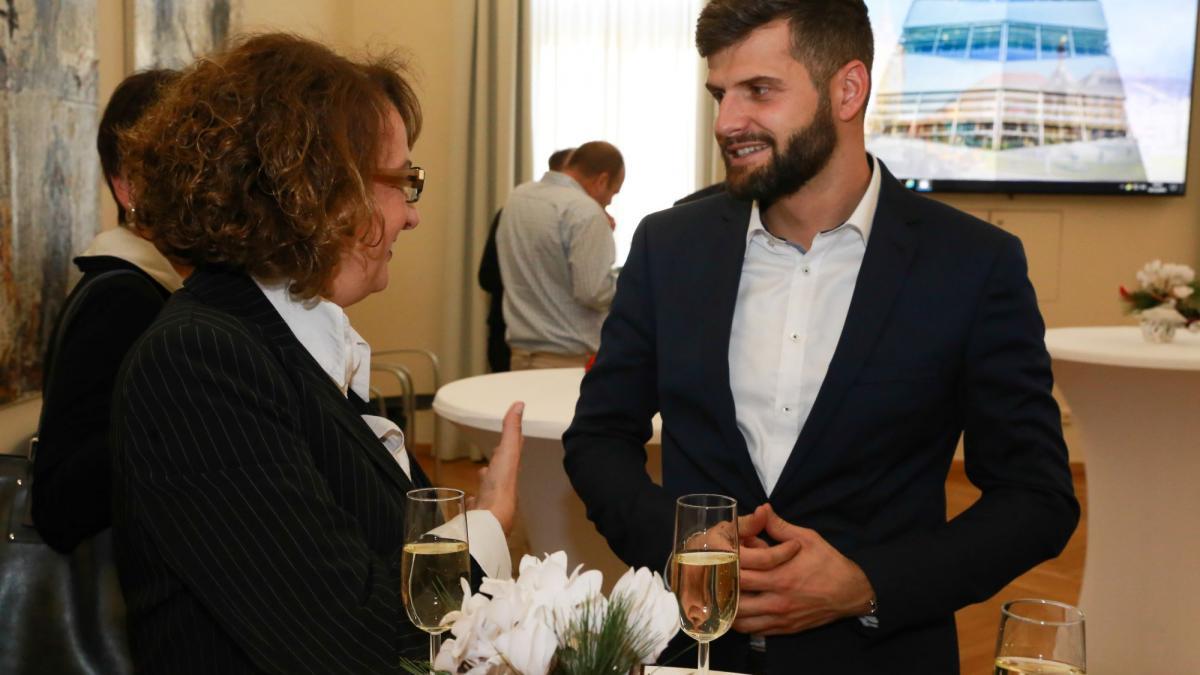 Slika: Srečanje pobratenih mest Celovec in Nova Gorica