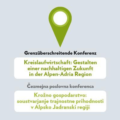 Slika: Kreislaufwirtschaft: Gestalten einer nachhaltigen Zukunft in der Alpen-Adria Region