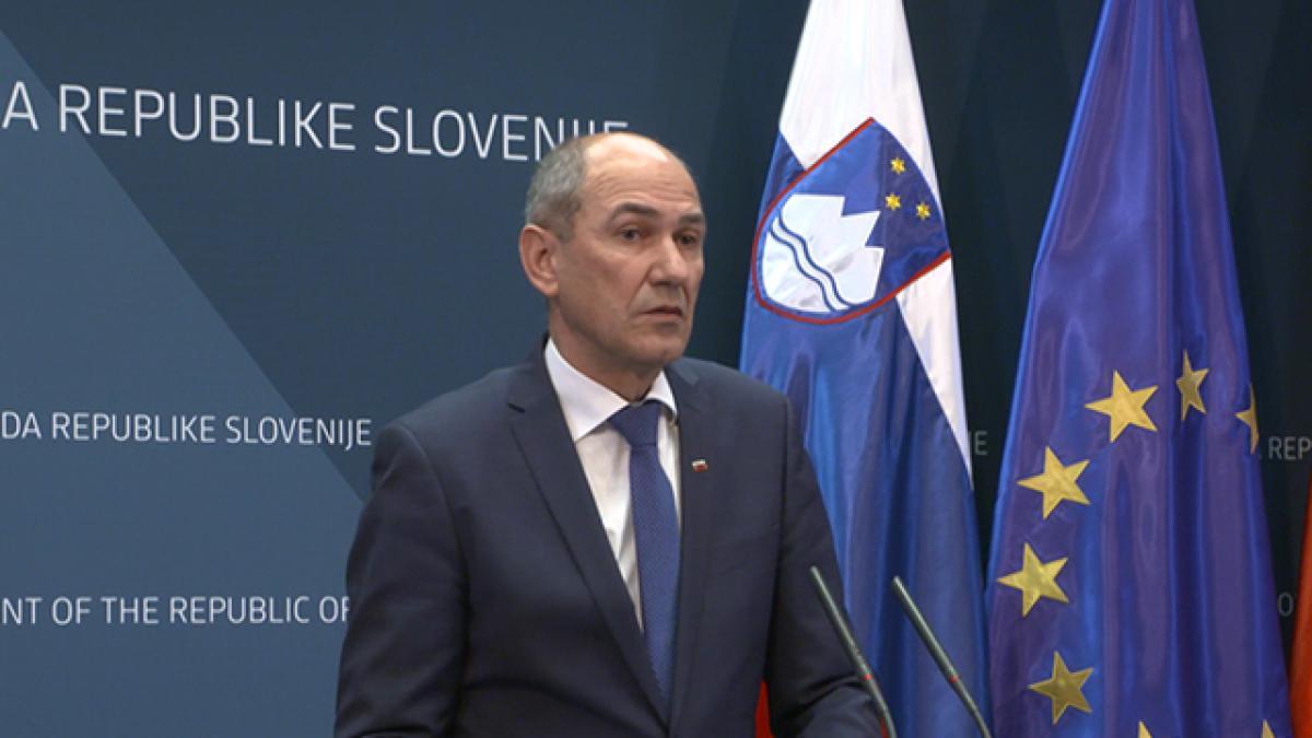 Slika: Predstavitev protikorona paketa za pomoč prebivalstvu in gospodarstvu v Sloveniji
