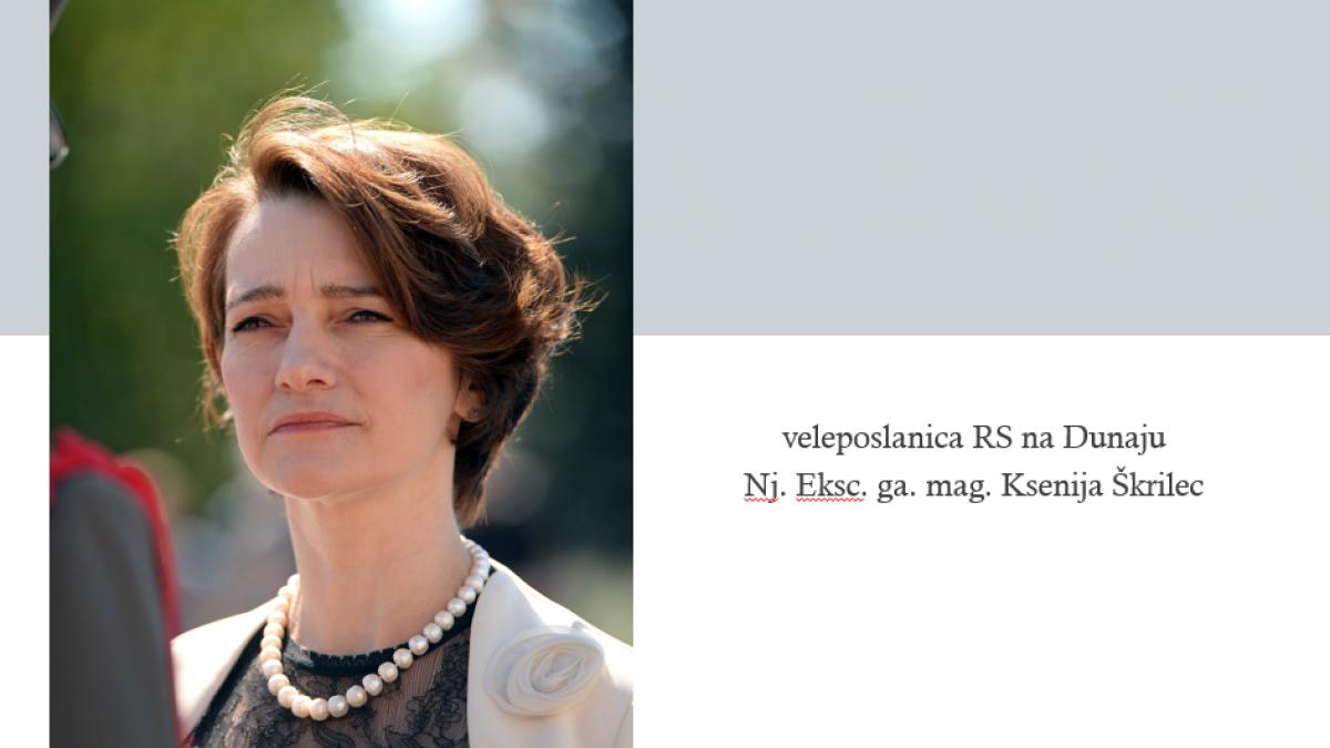 Slika: Odpiranje meja: pogovor z veleposlanico RS na Dunaju g. Ksenijo Škrilec