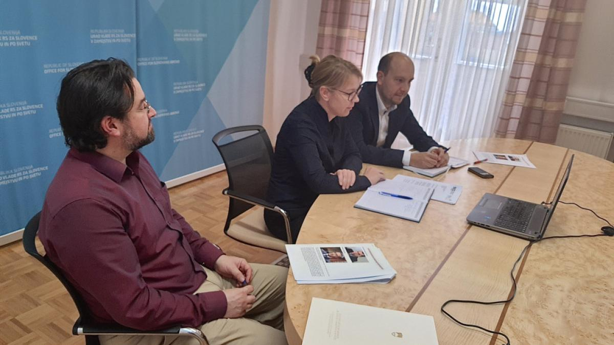 Slika: Slovenska ministrica za Slovence v zamejstvu in po svetu Helena Jaklitsch