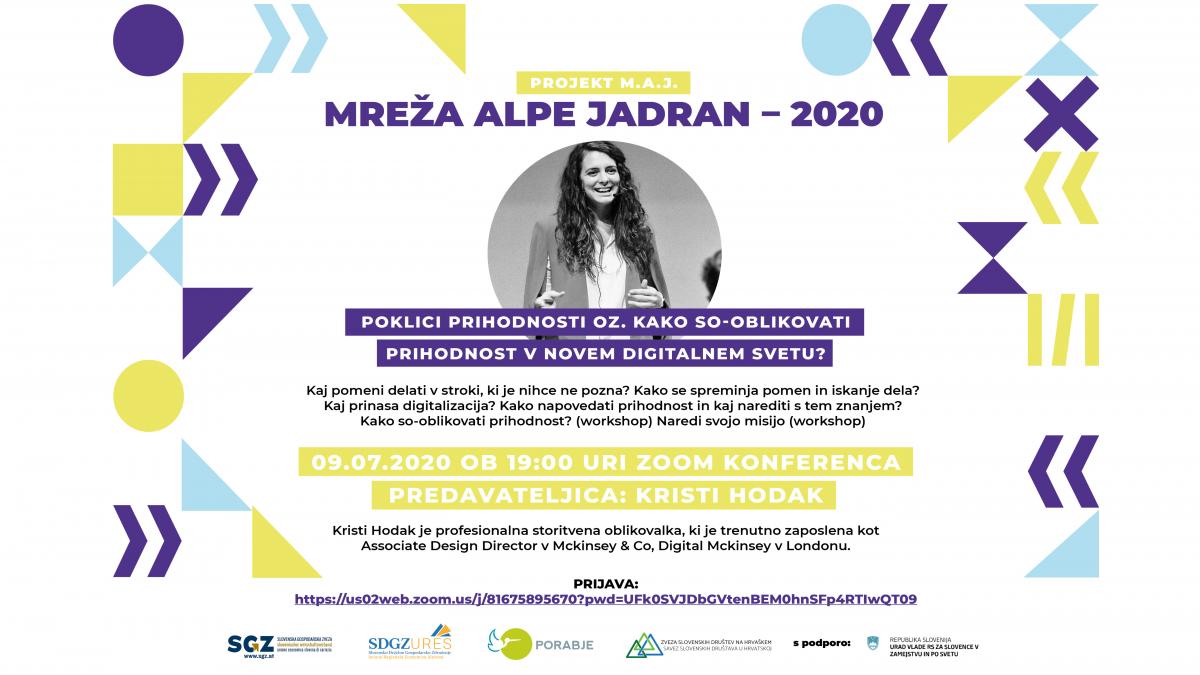 Slika: M.A.J.  Mreža Alpe Jadran 2020