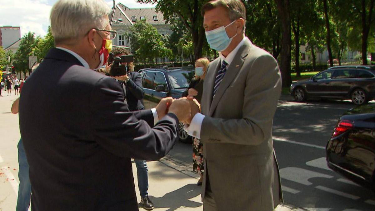 Slika: Obisk predsednik republike Slovenije Boruta Pahorja v Celovcu!