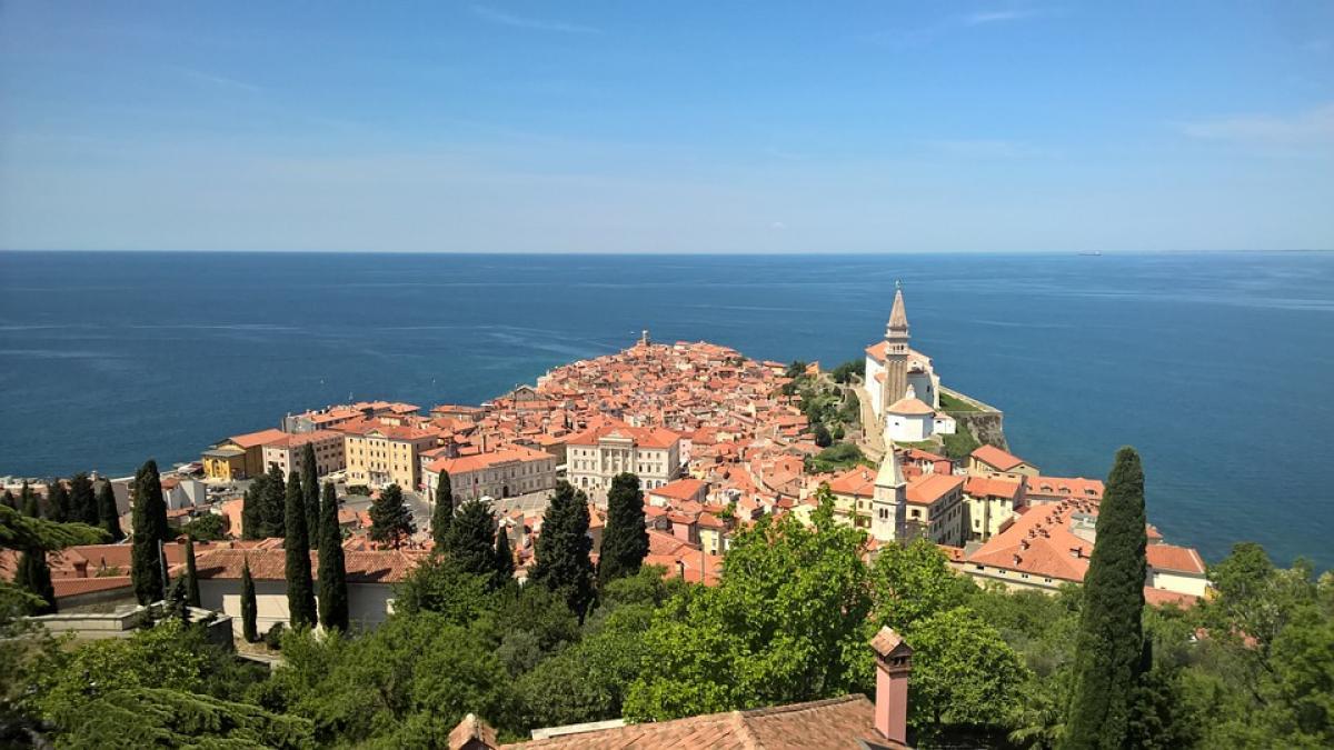 Slika: Prispevek ZDF: Piran –  Slikovito mestece na Jadranu