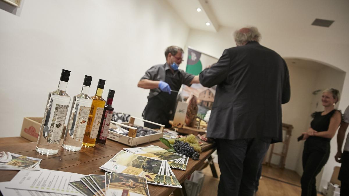 Slika: Slovenski večer v znamenju prijateljstva in kulinarike