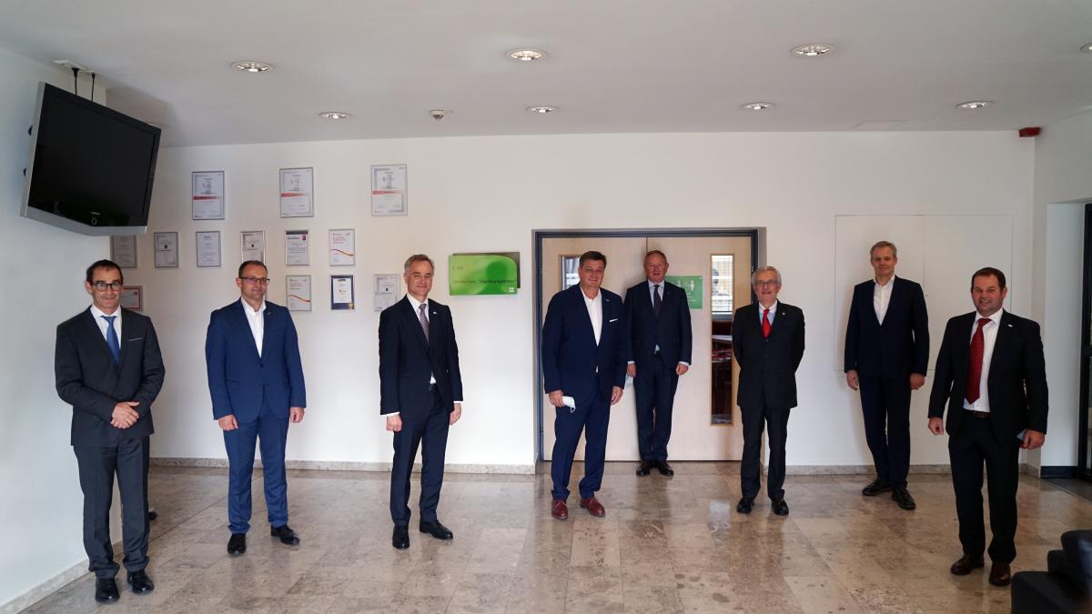 Bild: Besuch der Industrie- und Handelskammer Bozen in Klagenfurt