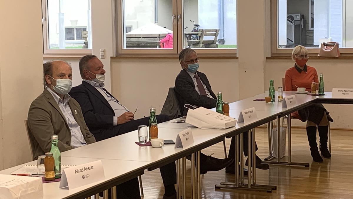 Slika: Obisk Gospodarske zbornice (IHK) Bozen