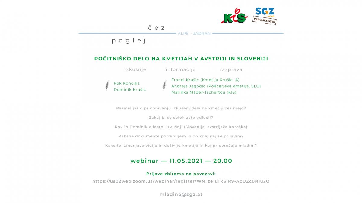 Slika: POLETJE 2021: Počitniško delo na kmetijah v Avstriji in Sloveniji