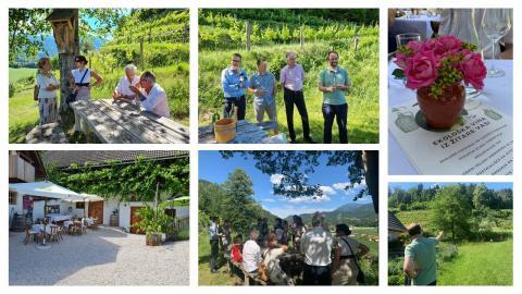 Bild: Sommertreffen der slowenischen Unternehmer