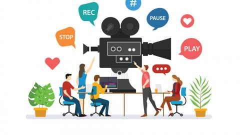 Slika: video making