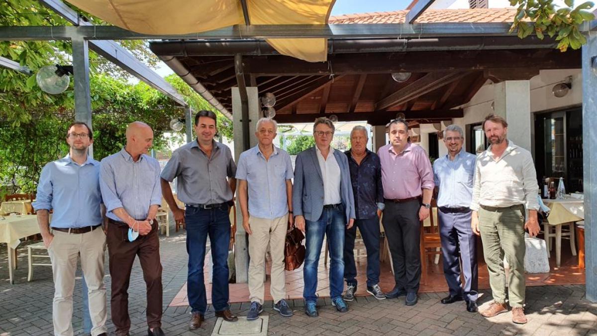 Slika: Gospodarska delegacija in predstavitev poslovnega okolja na Tržaškem