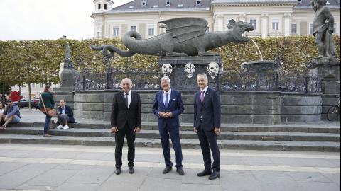 Bild: obisk finančnega ministra dr. Andrej Šircelj
