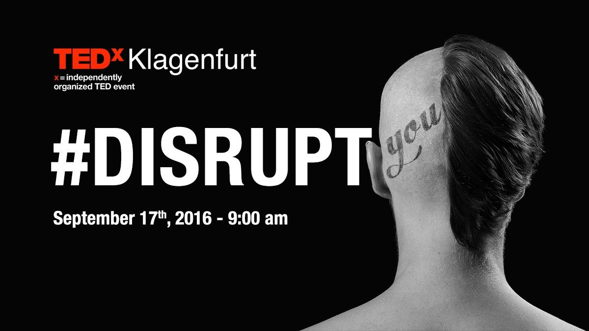 Bild: TEDxKlagenfurt, Samstag 17.09.2016
