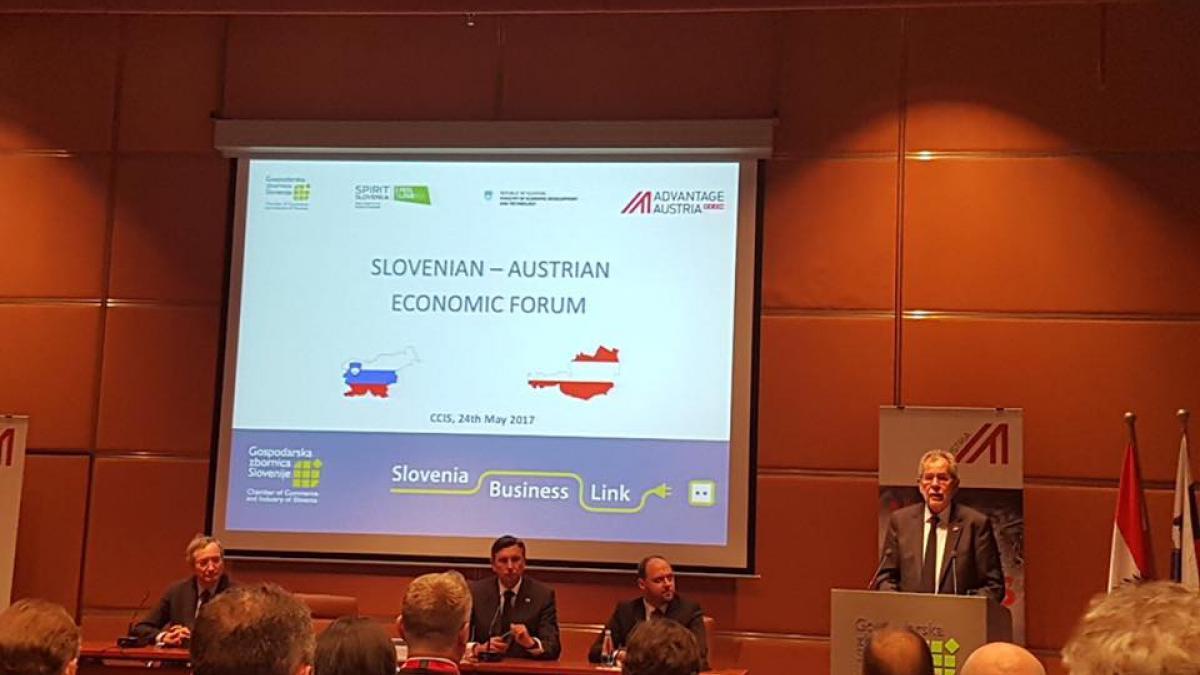 Slika: Bilateralni gospodarski vrh v Ljubljani