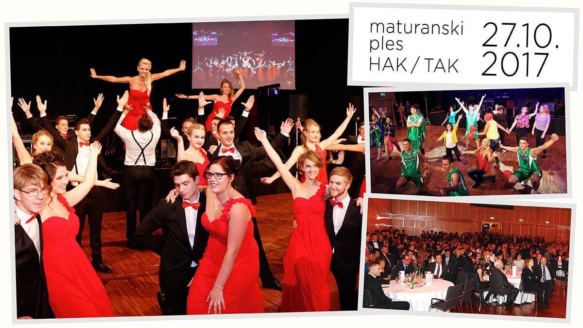 Slika: Petkov kolaž: Ples Dvojezične trgovske akademije
