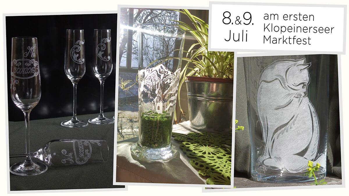 Bild: Freitags-Goodies: Aleksandra's Glasgravuren