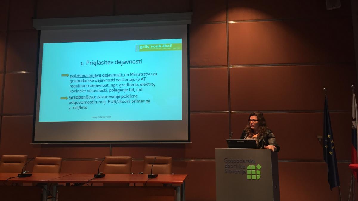 Slika: Strokovni seminar: Napotitev delavcev v Avstrijo - 06.10.2017 - Ljubljana